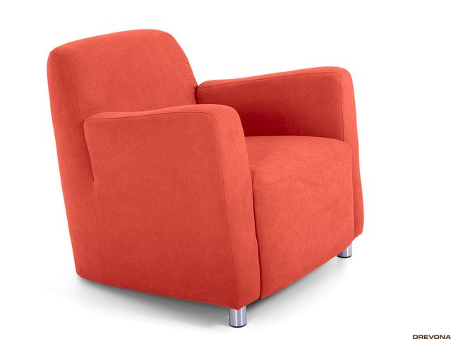Fotel oranžový AVA PIXY 1 (Soro 51)