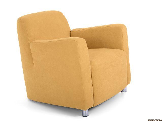 Fotel žlto zelený AVA PIXY 1 (Soro 40)