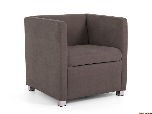Fotela antracitová AVA NATY