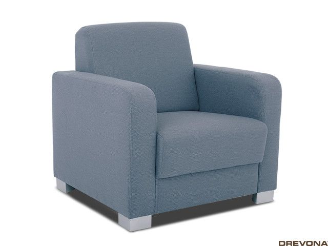 Fotela modro - sivá TAMMY