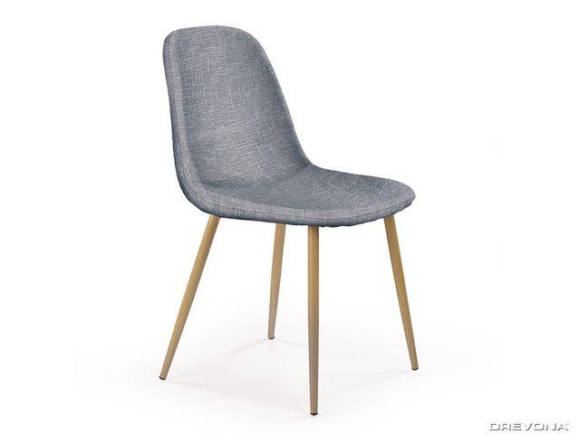 Jedálenská stolička šedá K220