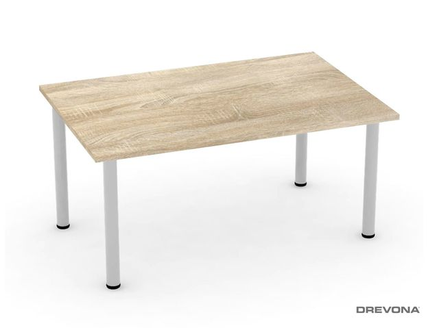 Jedálenský stôl 120 dub bardolíno 4 nohy FLAT 2