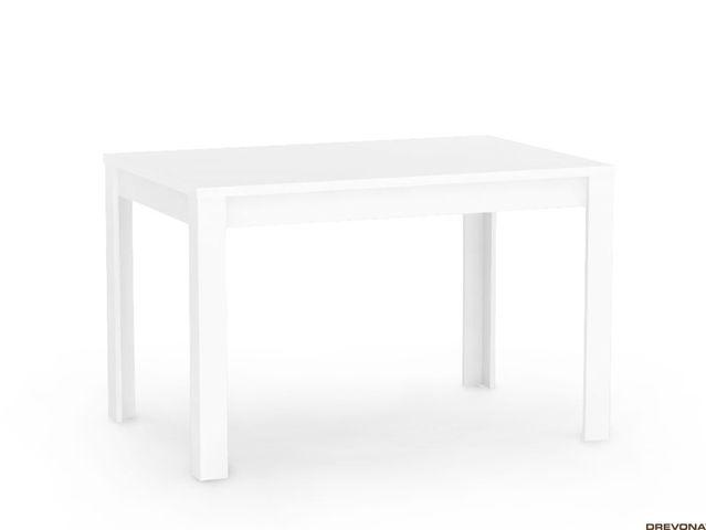Jedálenský stôl 120 x 80 biely REA TABLE