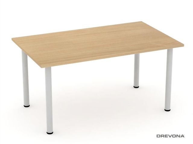 Jedálenský stôl 150x90 FLAT 7, buk
