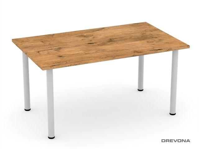 Jedálenský stôl 150x90 FLAT 7, dub lancelot