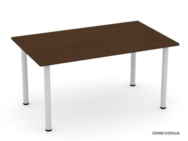 Jedálenský stôl 150x90 FLAT 7, wenge
