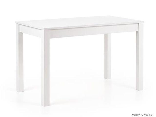 Jedálenský stôl biely KSAVERY