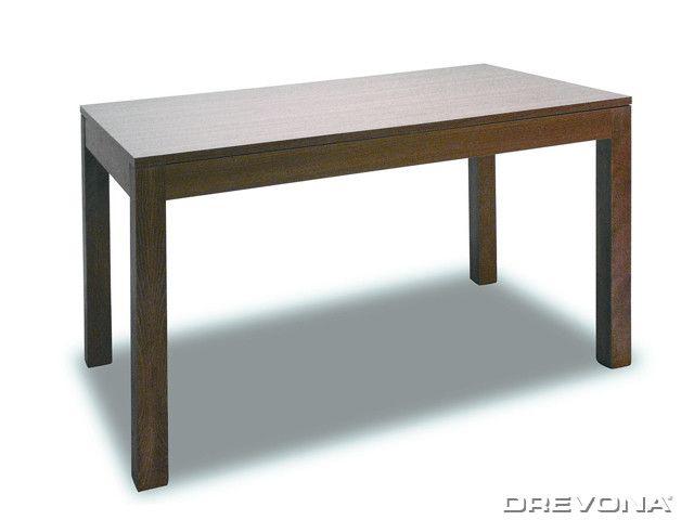 Jedálenský stôl rozťahovací 120x80 orech MONZA