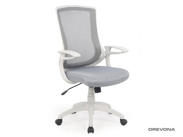 Kancelárska stolička svetlo sivá IGOR