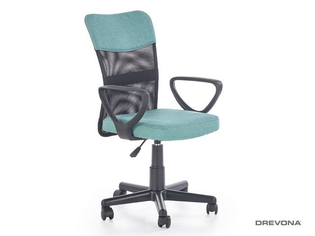 Detská stolička pracovná tyrkysová TIMMY