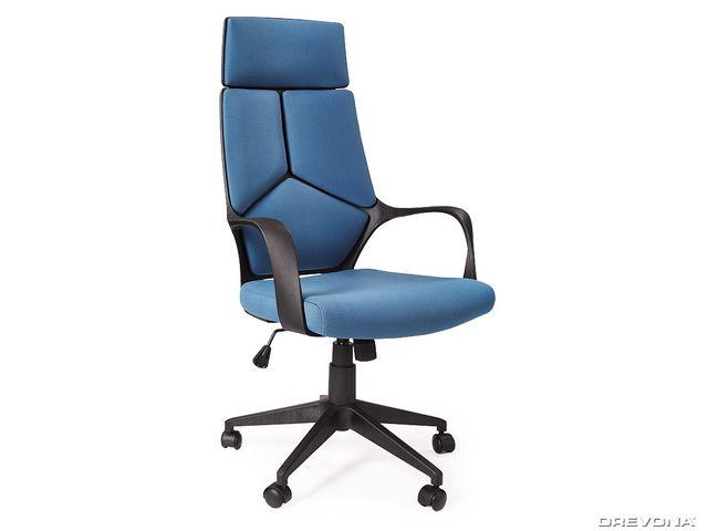 Kancelárske kreslo modré VOYAGER