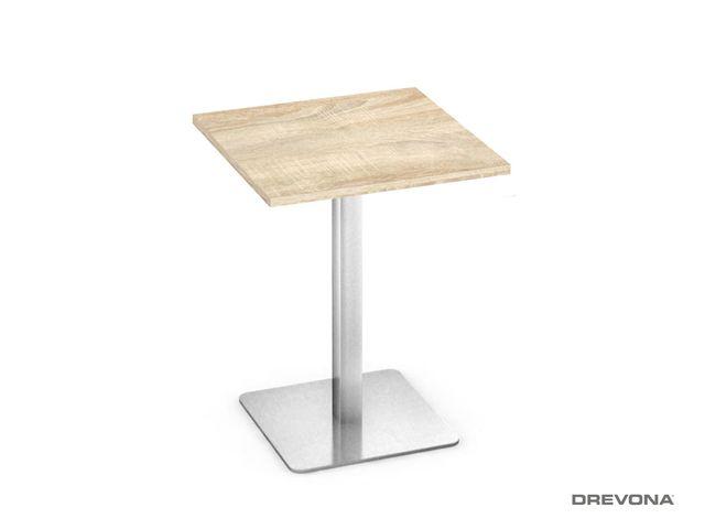Kaviarenský stolík dub bardolíno FLAT 3