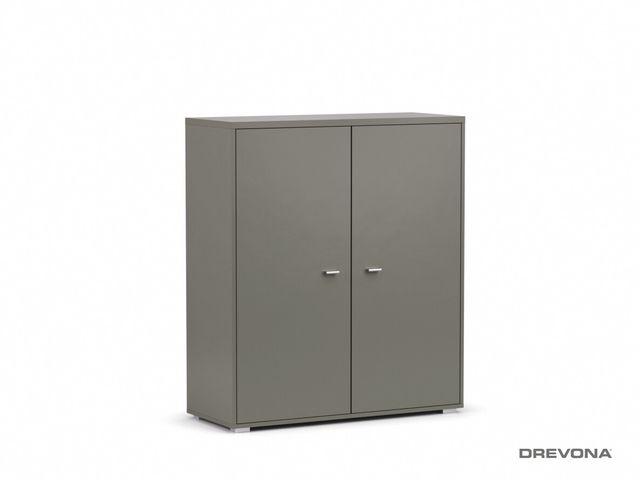 Komoda 2-dverová grafit DENISA UP 014