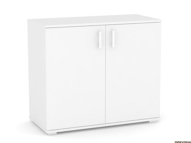 2-dvierková komoda biela REA SISA 7