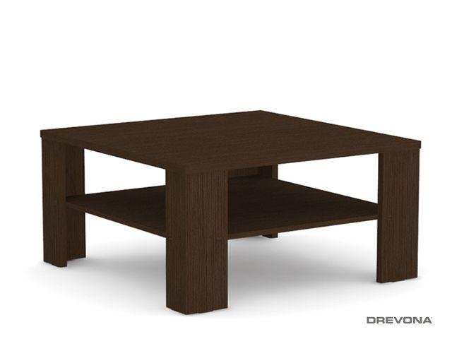 Konferenčný stolík štvorcový wenge REA 5