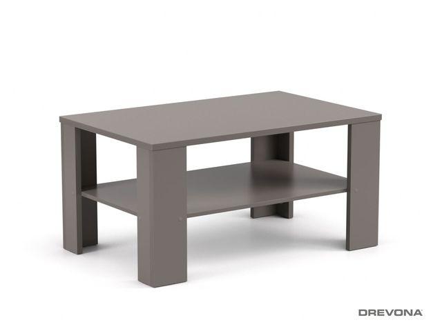 Konferenčný stolík vysoký šedý grafit REA 3v
