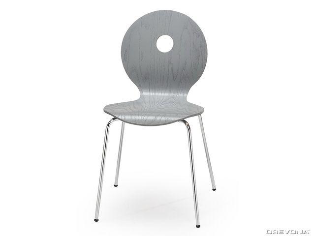 Kuchynská stolička šedá K233