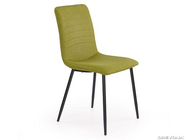 Kuchynská stolička zelená K251