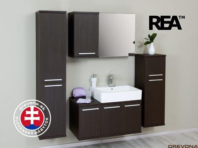 Zostava wenge kúpeľňa REA REST č.1