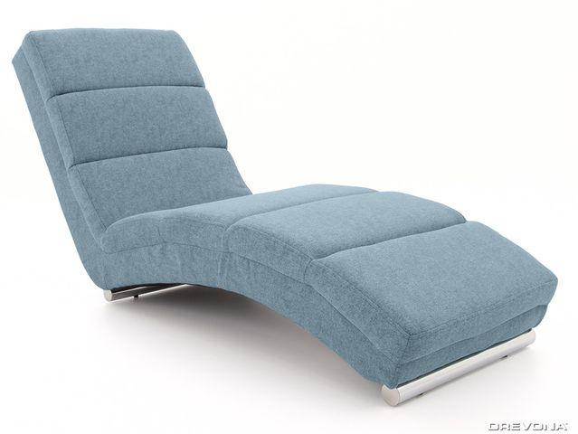 Lehátko do obývačky modré HERA Gusto 72