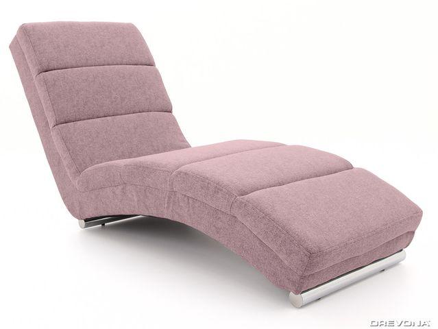 Lehátko do obývačky ružové HERA Gusto 61