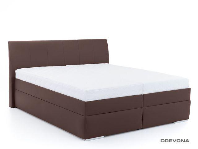 Manželská posteľ 180 cm hnedá LIPARI 2, M04