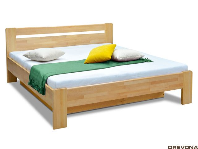 Masívna posteľ buk 160x200 KARS 2