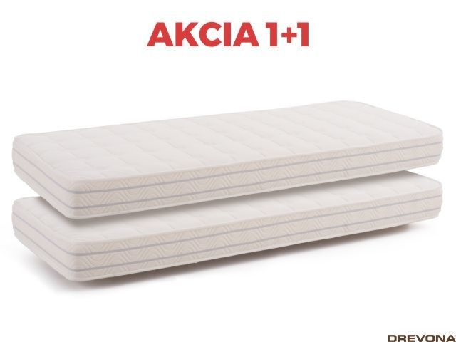 Matrac akcia 1+1 90 x 200 cm MEMORY BASIC