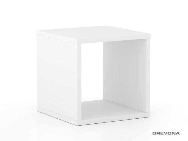 Multifunkčný stolík biely REA BLOCK