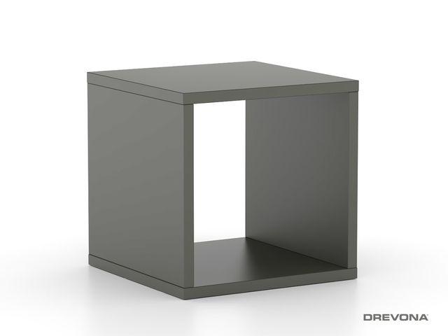 Multifunkčný stolík šedý REA BLOCK