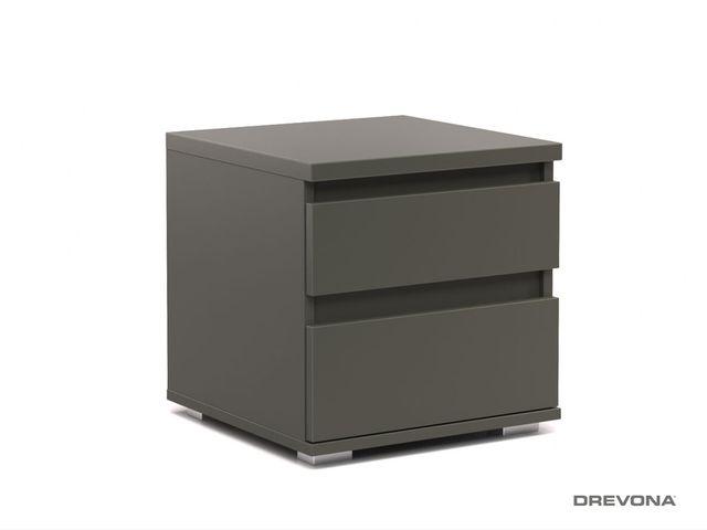 Nočný stolík šedý REA AMY 1