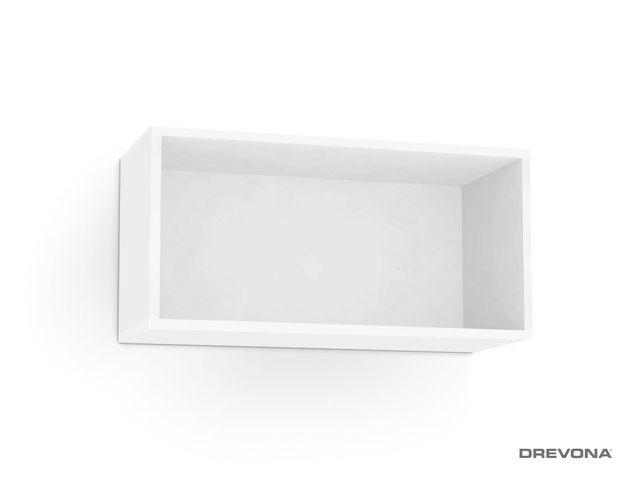 Otvorená skrinka biela REA REBECCA 7