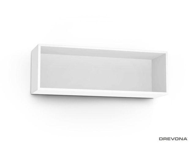 Otvorená skrinka biela REA REBECCA 8
