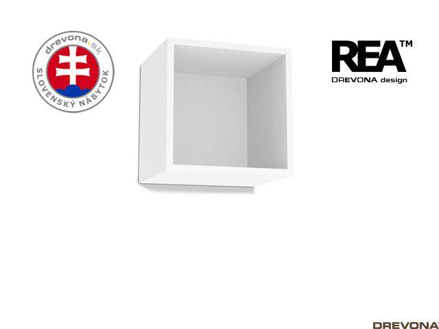Otvorená skrinka biela REBECCA 6