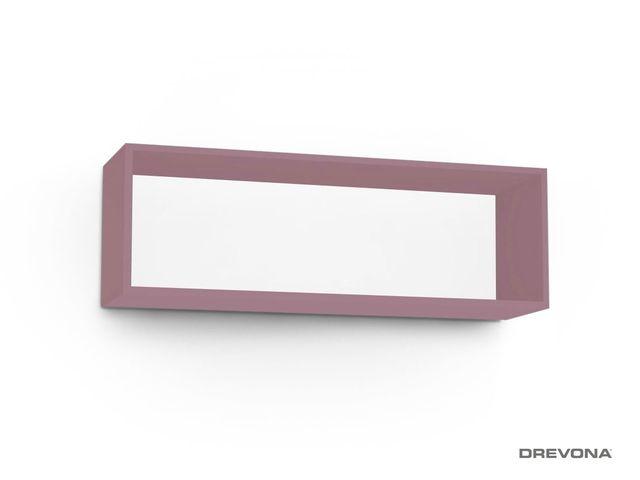 Otvorená skrinka fialová Plum REA REBECCA 8