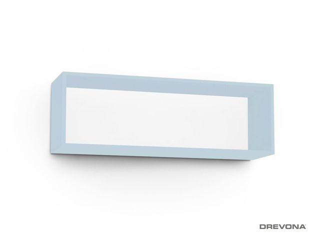 Otvorená skrinka modrá IceBlue REA REBECCA 8
