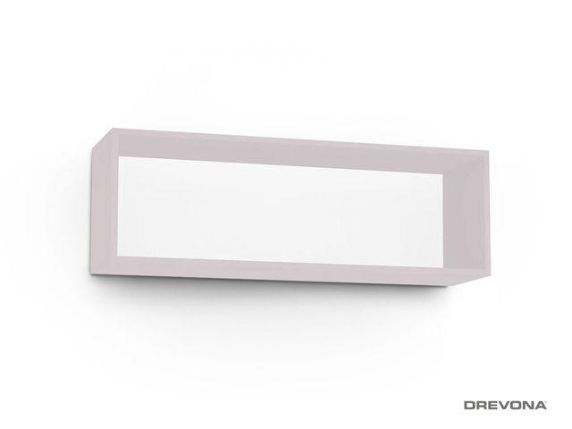 Otvorená skrinka ružová Rosé REA REBECCA 8