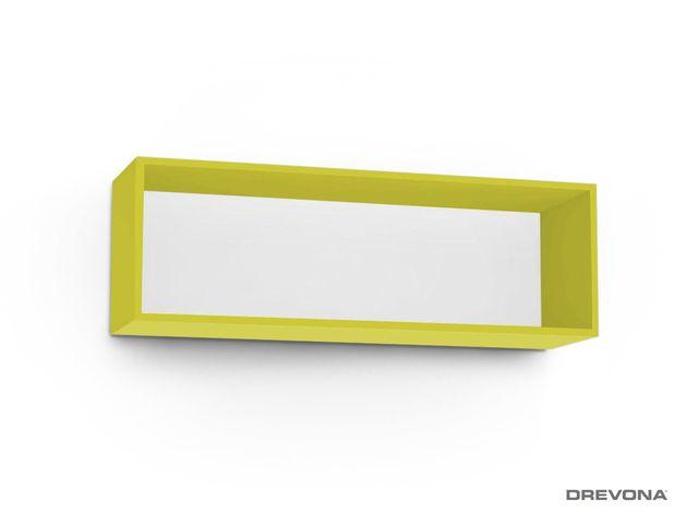 Otvorená skrinka zelená REA REBECCA 8