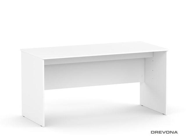 Písací stôl rokovací biely REA OFFICE 60 pi/za
