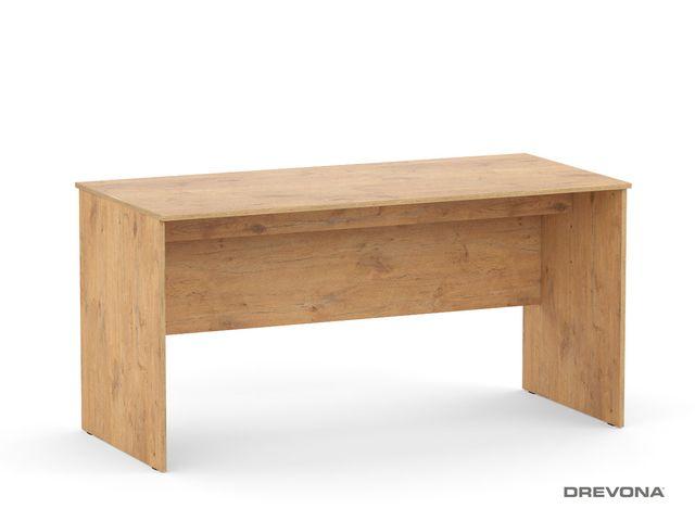 Písací stôl rokovací dub lancelot REA OFFICE 60 pi/za