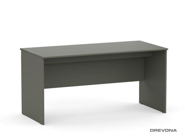 Písací stôl rokovací grafit REA OFFICE 60 pi/za