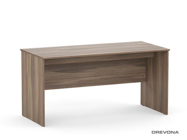 Písací stôl rokovací orech r. REA OFFICE 60 pi/za