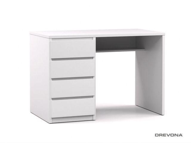 Písací stolík ľavý biely RP POLO 2