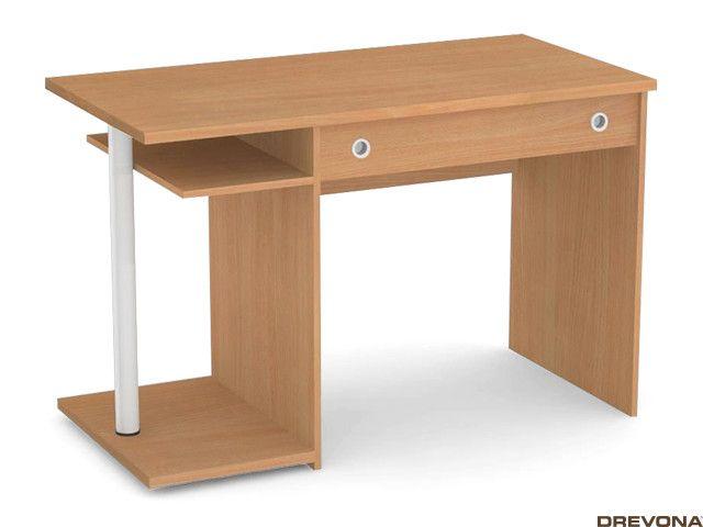 Písací stolík PC 120 cm buk REA TOMMY