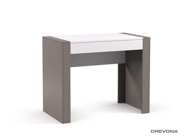 Písací stolík pod PC šedý grafit REA JAMIE