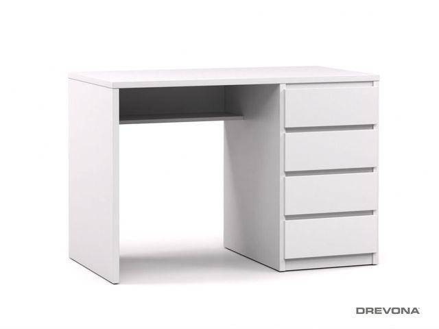 Písací stolík pravý biely RP POLO 2