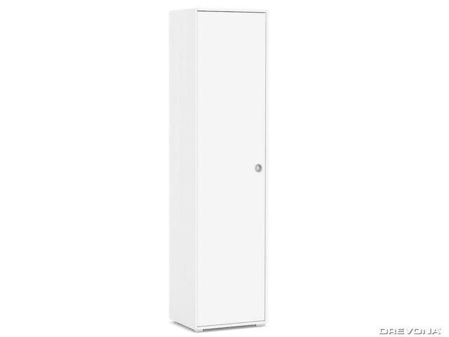 Policová skriňa 1-dverová biela REA LARY S2/200
