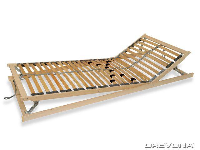 Polohovací rošt do postele 80x200 cm DOUBLE EXPERT
