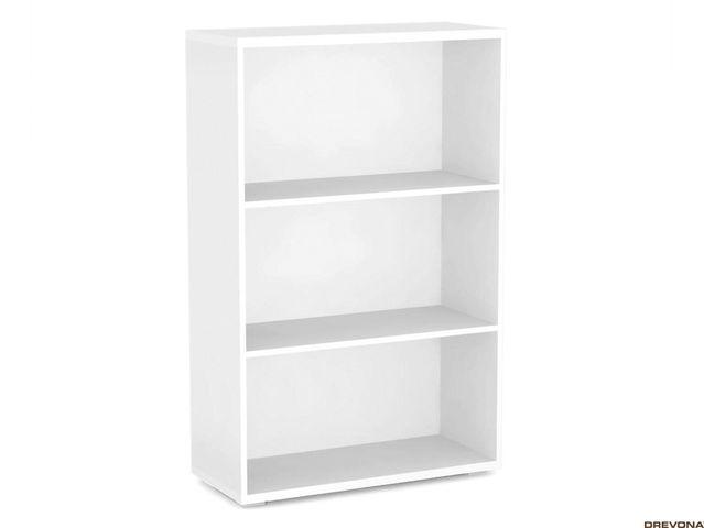 Regál 80x124 cm biely REA STORE