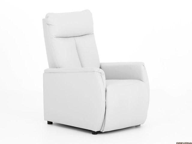 Relaxačné kreslo biele TAPIO